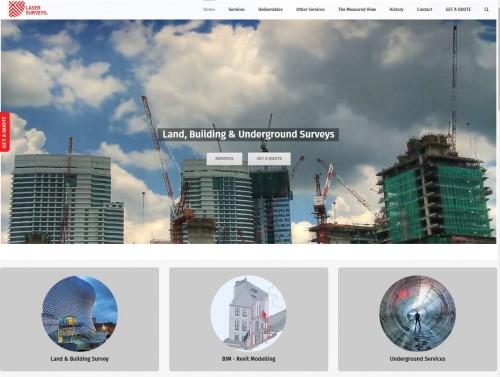 LaserSurveyshavelaunchedanewwebsiteforlandbuildingundergroundsurveysampBIMservices