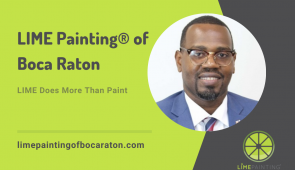 LIME Painting® launches a new franchise in Boca Raton, FL