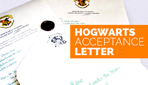 Deliver This Letter have launched a new campaign of Harry Potter themed merchandise