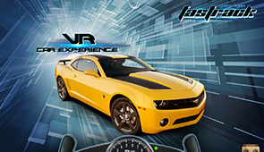 Fastrack Car Driving Game to be played using Google Cardboard Glasses