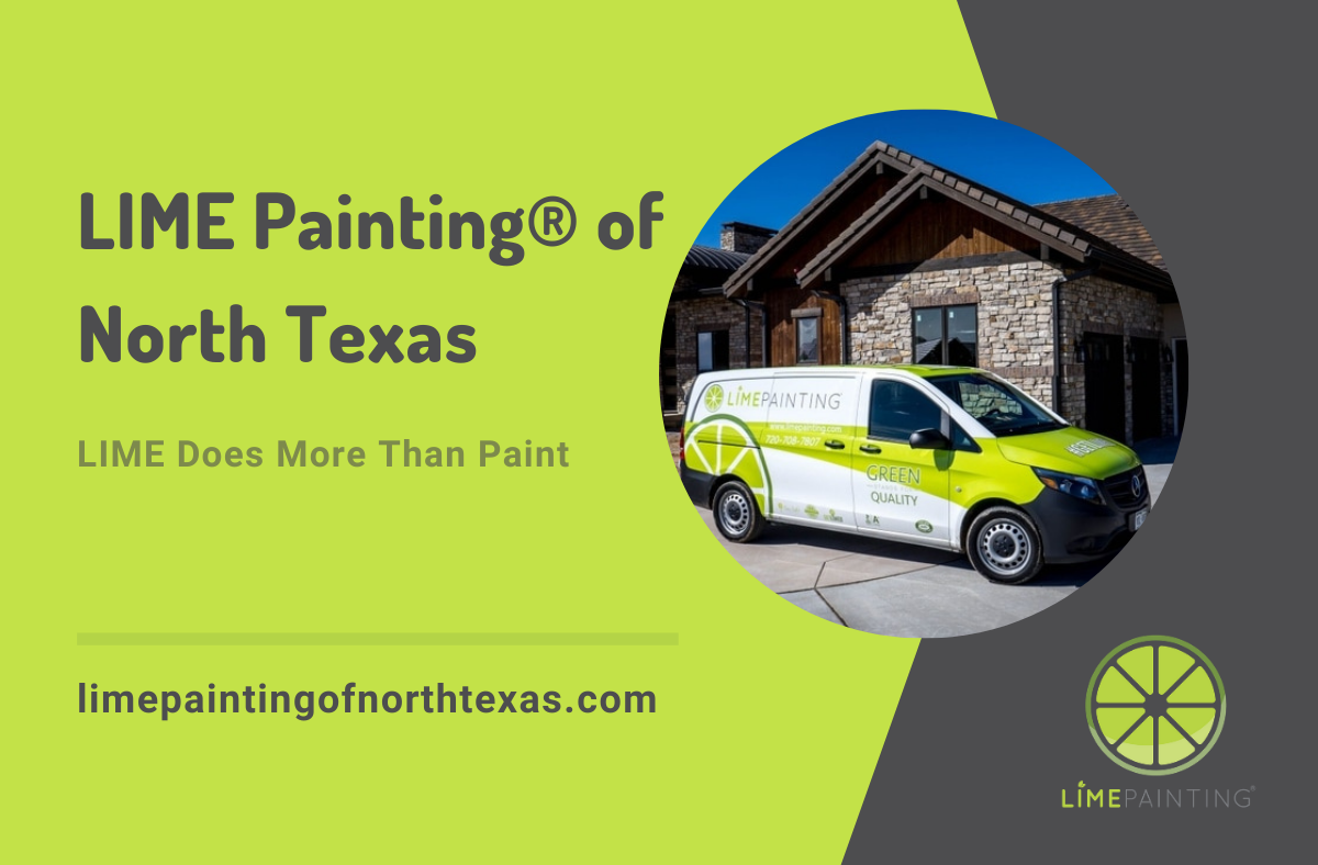 LIME Painting® launches a new franchise in North Texas